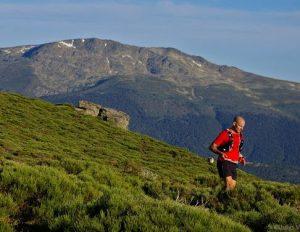 Carrera de montaña por la Sierra de Guadarrama.