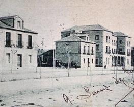 Vieja fotografía de la Colonia del Doctor Rubio.