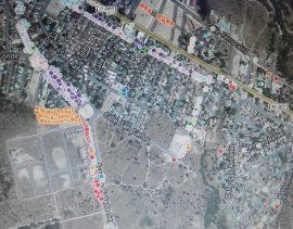 Inventario del arbolado urbano de Aldea del Fresno.