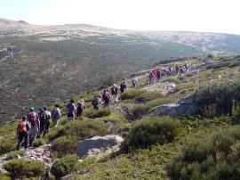 Una edición anterior de la excursión que discurrirá por la Sierra.