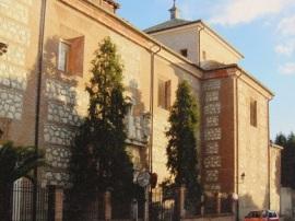 Árboles que rodeaban el convento antes de ser talados. (Foto: Ecologistas en Acción).