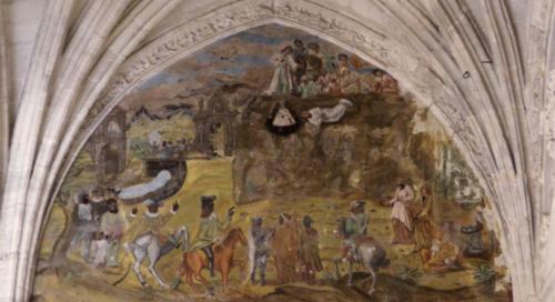 Fresco de María del Salto.