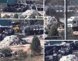 Tratamientos inadecuados de residuos peligrosos denunciados por Equo Madrid.