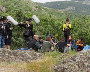 Carlos de Hita durante una grabación de sonidos de la naturaleza. Foto: SEO/Birdlife.