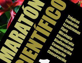 Cartel del Maratón Científico.