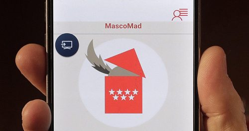 Aplicación 'MascoMad'.
