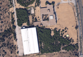 Parcela que ocupa el Edificio Kodak. Foto: Google Maps.