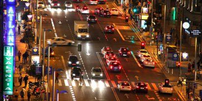 El tráfico rodado es uno de los grandes problemas ambientales de Madrid.