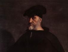 Retrato del almirante italiano Andrea d'Oria.