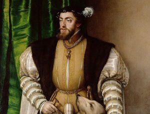 Retrato de Carlos V.