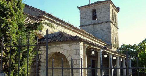 Iglesia de Nuestra Señora del Enebral. Foto: Zarateman.