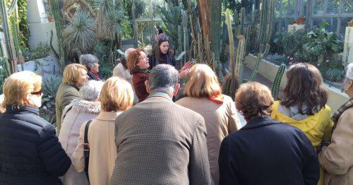 Visita al Real Jardín Botánico.