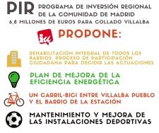 Propuestas lanzadas por IU de Collado Villalba.
