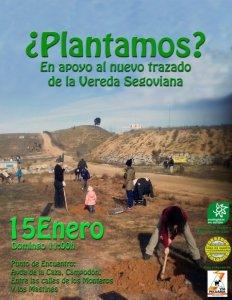 Cartel de la iniciativa puesta en marcha por Ecologistas en Acción.