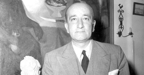 Leopoldo Panero y el Guadarrama.