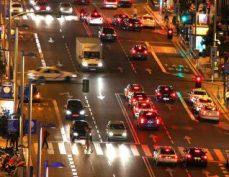 Tráfico en el centro de Madrid.