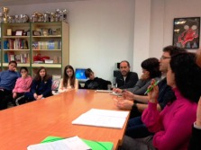 Reunión del Comité Ambiental municipal.