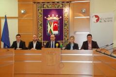 Alcaldes durante la celebración de la Cumbre.