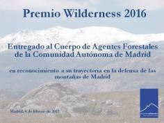 Premio Wilderness 2016.