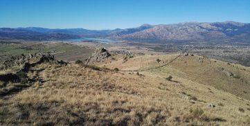 Vistas desde la cima del Cerro de San Pedro. Foto: José Ángel Macho Barragués.