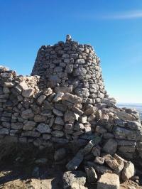Cima del Cerro de San Pedro. Foto: José Ángel Macho Barragués.