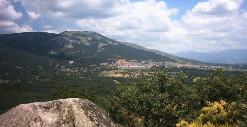 Vista del Monte Abantos.