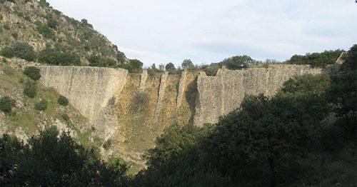 Presa de El Gasco.