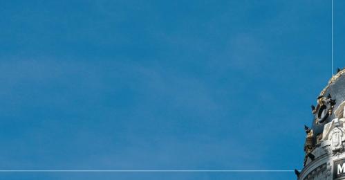 Una de las postales del cielo de Madrid. Foto: Ecologistas en Acción.