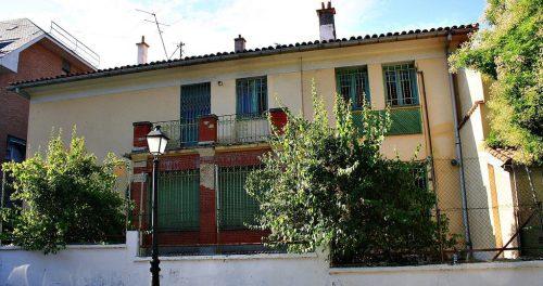 Antigua casa de Vicente Aleixandre.