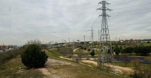 La Vía Verde a la altura del Parque de Las Presillas de Leganés. Foto: Madrid Diario.
