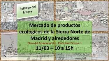 Cartel anunciador del Mercado.