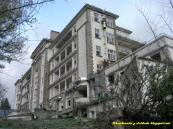 Sanatorio de Marina. Foto: abandonadoyolvidado.blogspot.com.es.