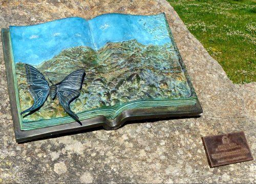 Placa 'Graellsia' dentro del Parque Nacional de la Sierra de Guadarrama (Cotos). Foto: JCV.