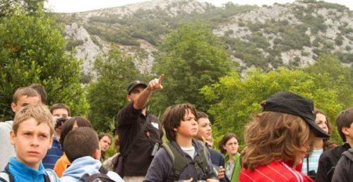 Observación de aves en Picos de Europa con niños ©Javier Alonso-El Hayal