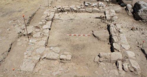 Restos de uno los restos visigodos encontrados en La Cabilda. Foto: Ayto. Hoyo de Manzanares.