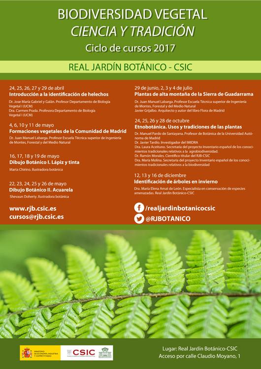 Biodiversidad vegetal ciencia y tradici n for Programacion jardin botanico
