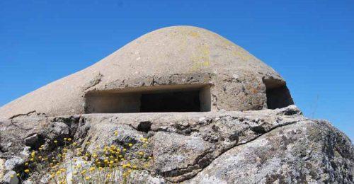 Punto de observación de la guerra Civil situado en el Alto del León.