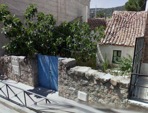 Vivienda demolida en Hoyo de Manzanares. Foto: Asociación El Ponderal.
