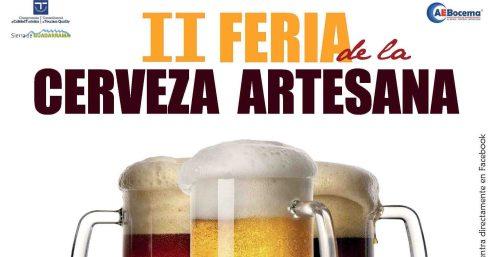 Cartel de la II Feria de la cerveza artesana.