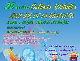 Cartel anunciador de la XXXI Día de la Bicicleta.