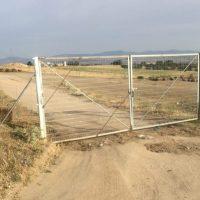 Nuevo cerramiento del camino de Romanillos