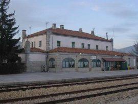 Estación de tren de Bustarviejo.