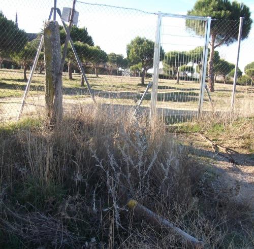 Puerta desparecida del camino de Romanillos. Foto: Juan Benavides.
