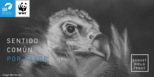 Imagen de la campaña lanzada por los grupos conservacionistas.