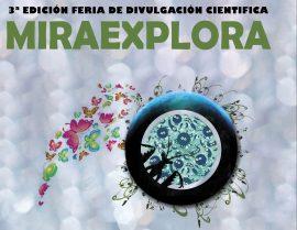 Cartel del Miraexplora.