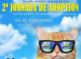 Cartel de la II Jornada de Adopción.