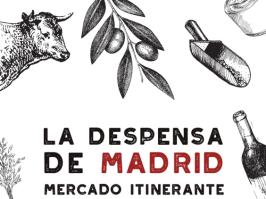 Cartel anunciador del mercado itinerante.