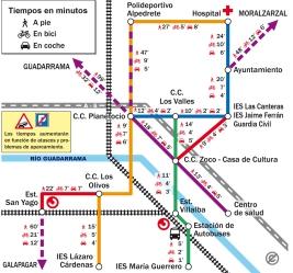 Metrominuto de Collado Villalba.