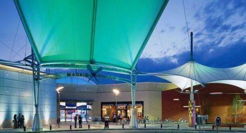 Entrada al Centro Comercial Madrid Xanadú.