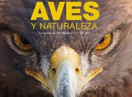 Portada del último número de la revista 'Aves y Naturaleza'.